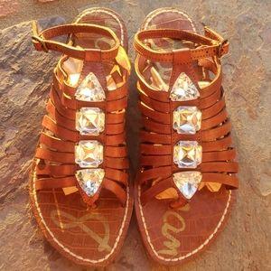 New Sam Edelman Gladiator Sandals 7 5